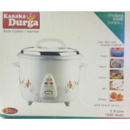 KANAKA DURGA RICE COOKER 2.8 WITH DOUBLE BOWL -