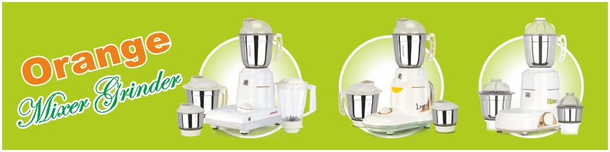 Orange Mixer Grinders,Home appliances products